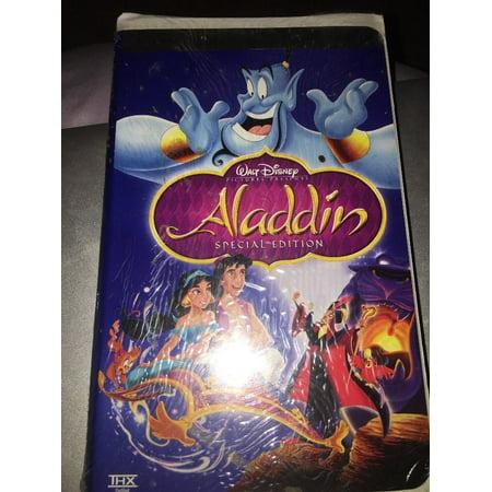 - Walt Disney Aladdin Platinum Edition VHS