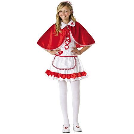 Nurse Costumes For Teens (Caped Nurse Teen Costume)