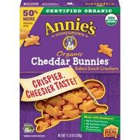 Annie's Organic Cheddar Bunnies Snack Crackers 11.25 oz