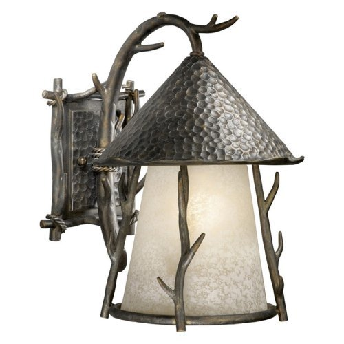 Vaxcel Woodland Outdoor Wall Light - 11W in. Autumn Patina