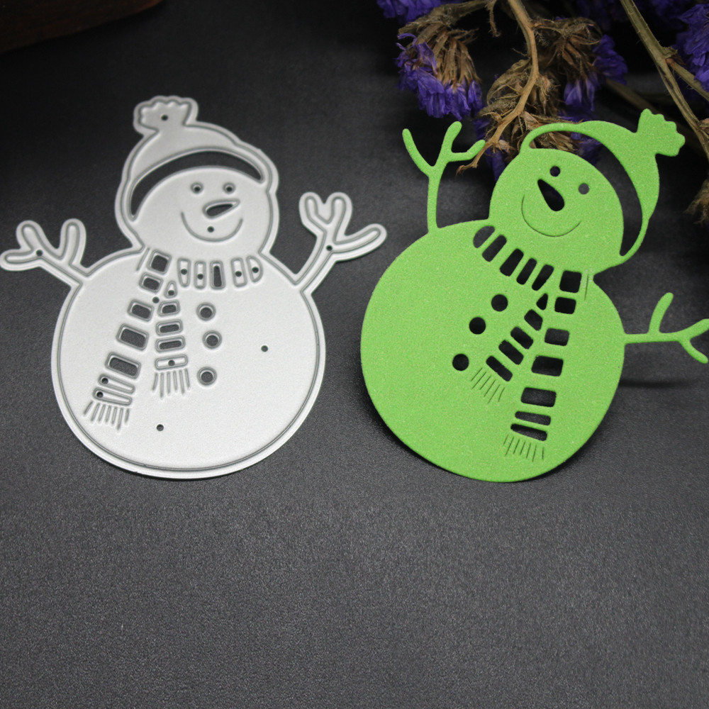 Merry Christmas Metal Cutting Dies Stencils Scrapbooking Embossing DIY Crafts B