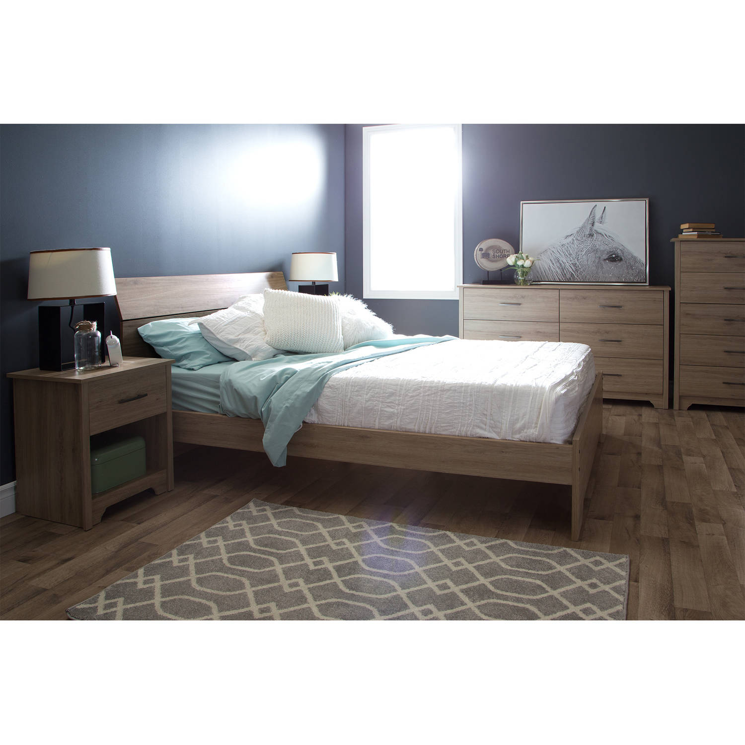 South shore fusion bedroom furniture collection for South shore bedroom set walmart