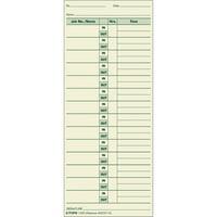 TOPS Job Cards Time Cards