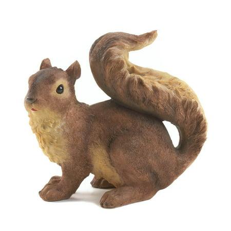 SUMMERFIELD TERRACE Yard And Garden Decorations, Rustic Resin Squirrel Outdoor Garden - Resin Squirrel