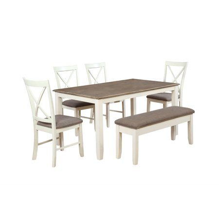2 Piece Powell Furniture (Powell Jane 6 Piece Dining Set,)