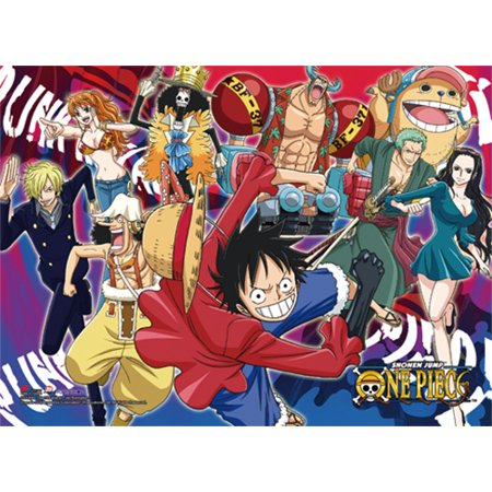 High End Wall Scroll - One Piece - Group 3 Anime Art Licensed ge81341