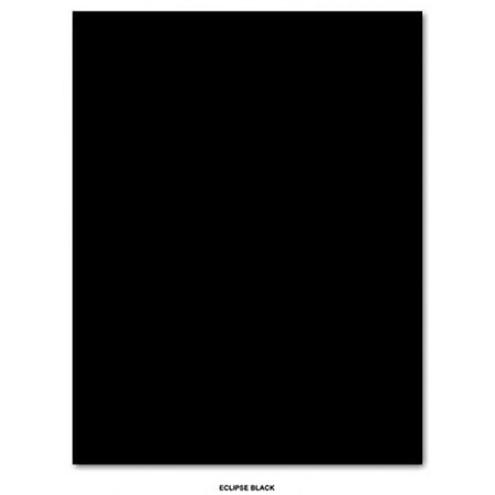 Black Color Card Stock Paper, 80lb / 218gsm 8.5 X 11 Inches - 25 per pack