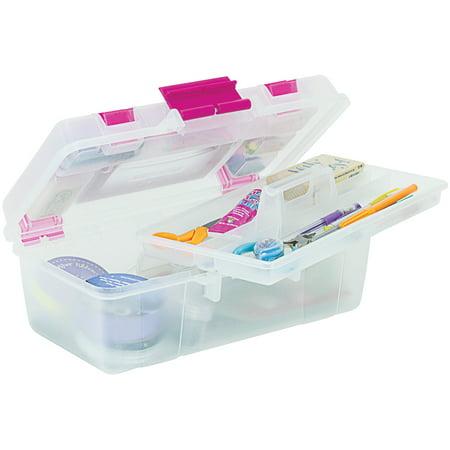 - Creative Options Clear Tool Box Organizer, 1 Each