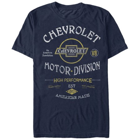 General Motors Chevrolet Motor Division Mens Graphic T Shirt
