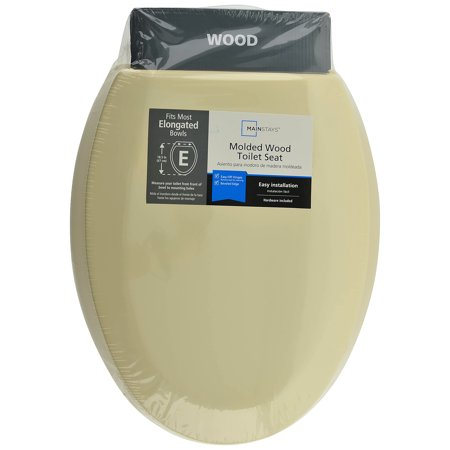 Wood Toilet Seat Walmart.Mainstays Molded Wood Toilet Seat