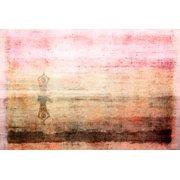 Parvez Taj Yoga Art Print On Premium Canvas