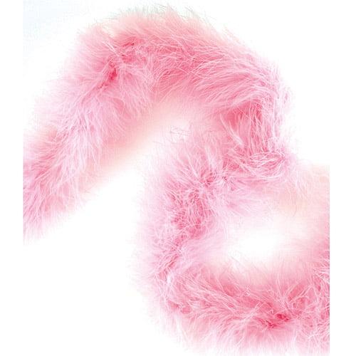 "Marabou Feather Boa, Heavy Weight, 72"""