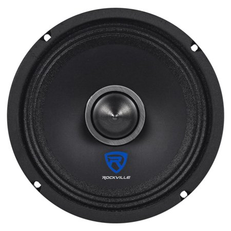 "Rockville RXM64 6.5"" 150w 4 Ohm Mid-Bass Driver Car Audio Speaker, Kevlar Cone"
