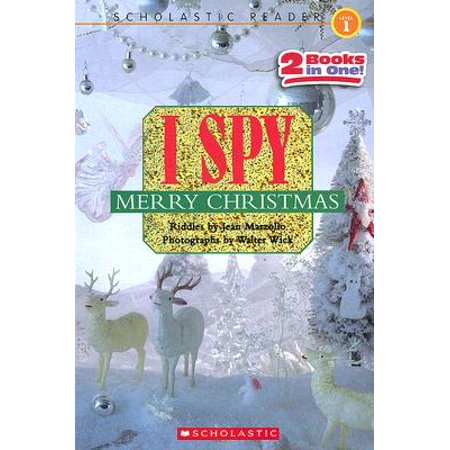 I Spy Merry Christmas : I Spy Santa Claus/I Spy a Candy Cane