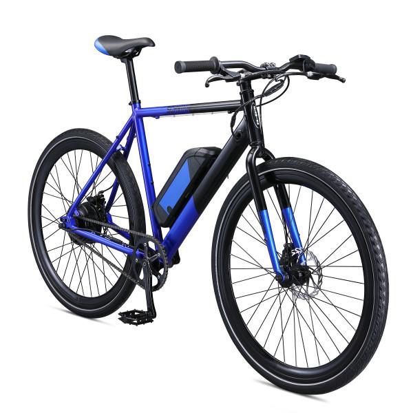 Schwinn Monroe 350 Watt Hub-Drive Single Speed 700c Electric Bicycle, Large