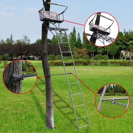 16 Two Man Hunting Ladder Stand Tree Stand Harness Seat