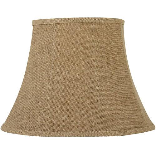 Better Homes and Gardens Burlap Bell Lamp Shade, Tan