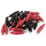 32pcs Crocodile Alligator Test Clip f Electrical Jumpers Wire Cable