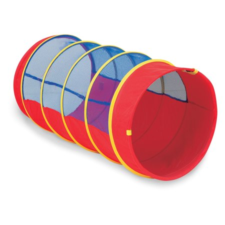 Institutional 4' Fun Tube Tunnel, Red