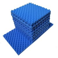 20 PK Acoustic Foam Gray Egg Crate Panel Wall Tile Audio Home Studio Deadening Soundproofing 12 x 12 x 1.4
