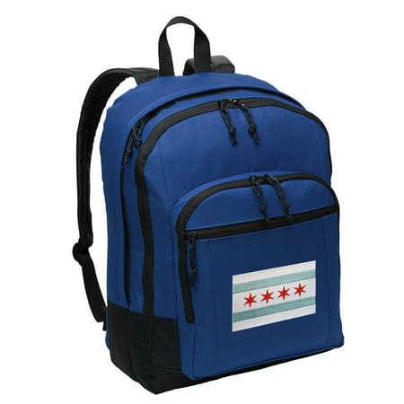 Chicago Flag Backpack BEST MEDIUM Chicago Backpack School