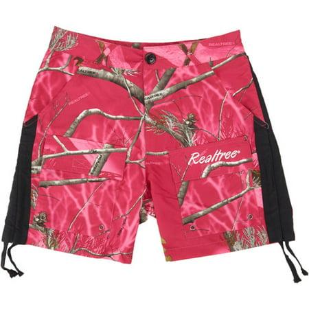 a560737db3295 Ladies Realtree Camo Shorts, Realtree APC Hot Pink - Walmart.com