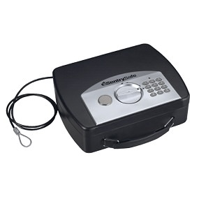 SentrySafe P008E Portable Security Safe