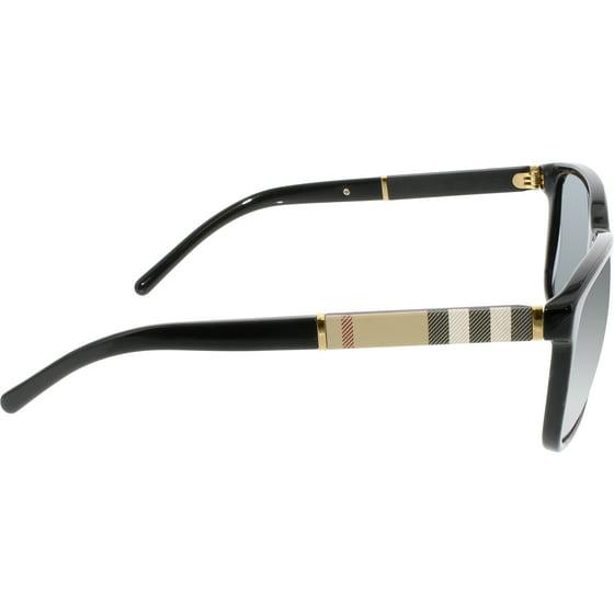 b626df1bd77c Burberry - Men's BE4181-300187-58 Black Square Sunglasses - Walmart.com