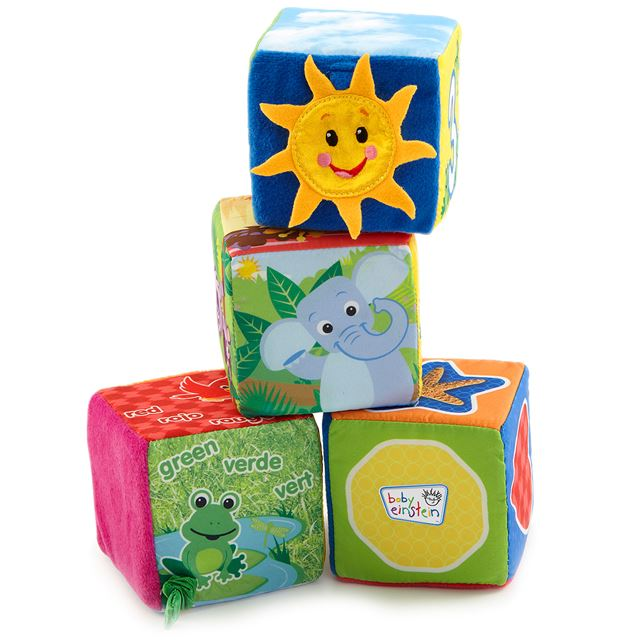 Baby Einstein Explore Discover Soft Blocks by