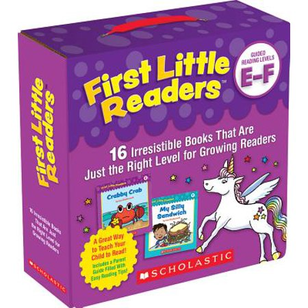 First Little Readers Parent Pack: Guided Reading Levels E & F : 16 Irresistible Books That Are Just the Right Level for Growing Readers