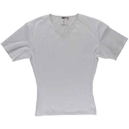 Insta Slim Mens Compression Slimming T-Shirt (Chantelle Nylon T-shirt)