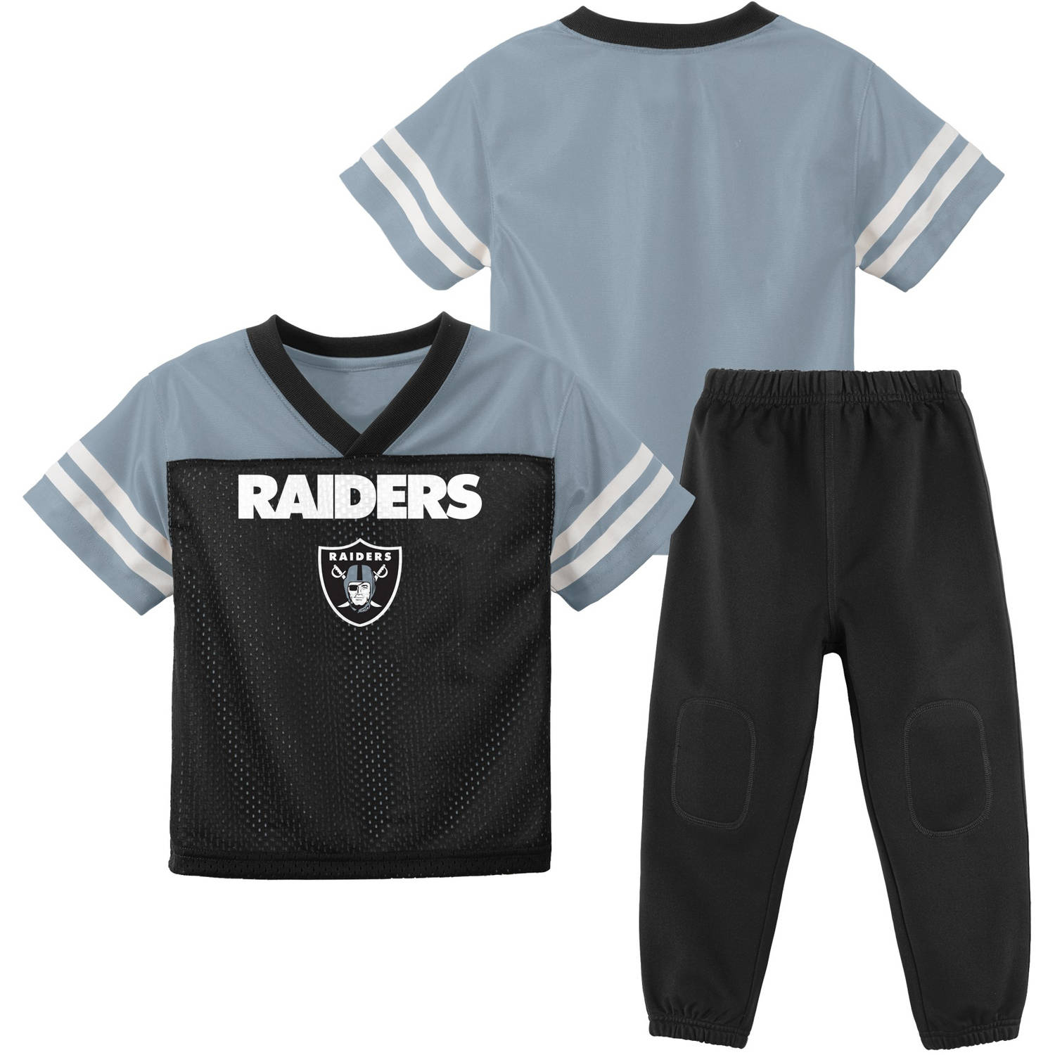 NFL Oakland Raiders Toddler Short Sleeve Top and Pant Set