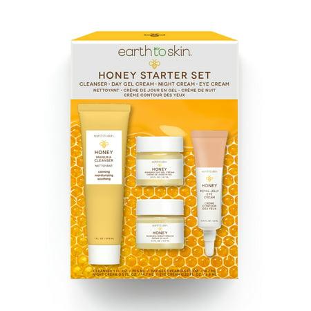 Earth to Skin Honey Manuka Calming Starter Set, 2.25 oz ()