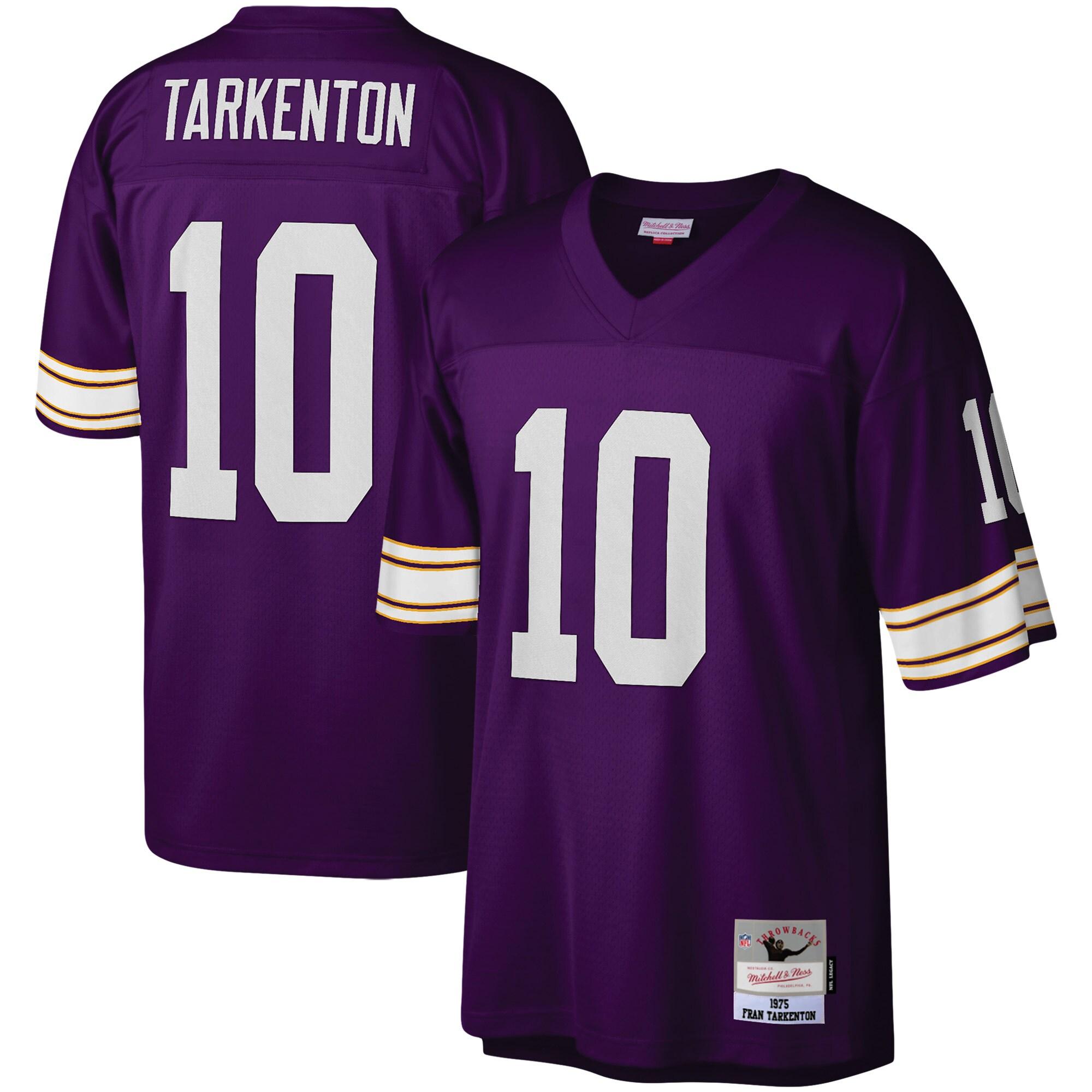 Fran Tarkenton Minnesota Vikings Mitchell & Ness Legacy Replica Jersey - Purple - Walmart.com