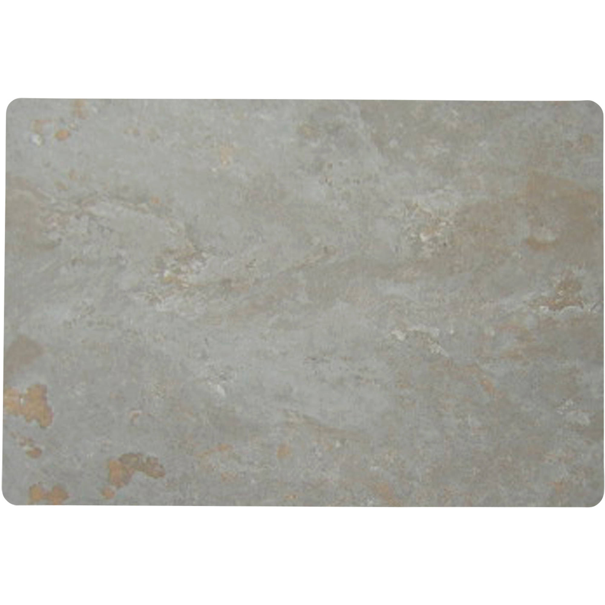 """Hotel 12"""" x 18"""" 4-Pack Stone Texture Placemat"""