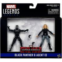 Marvel Black Panther & Agent 13 Action Figure 2-Pack