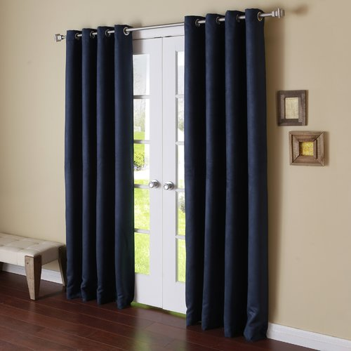 Best Home Fashion Inc. Solid Blackout Thermal Grommet Cur...