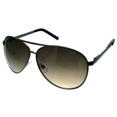 XL EXTRA LARGE Pilot Aviator Sunglasses Big Oversized 62mm Wide Frame, (Extra Wide Sunglasses For Big Heads)