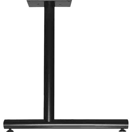 - Lorell, LLR60649, Training Table C-Leg Table Base, 2 / Carton, Black