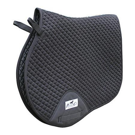 Professionals Choice VenTech Jump Saddle Pad Black (Red Saddle Pad)