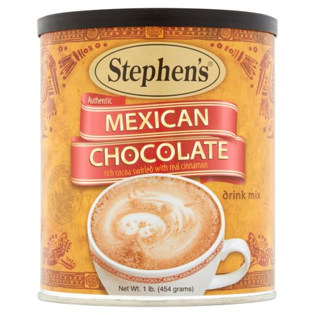 (6 Pack) Stephen's Gourmet Mexican Chocolate Hot Cocoa, 1 lb