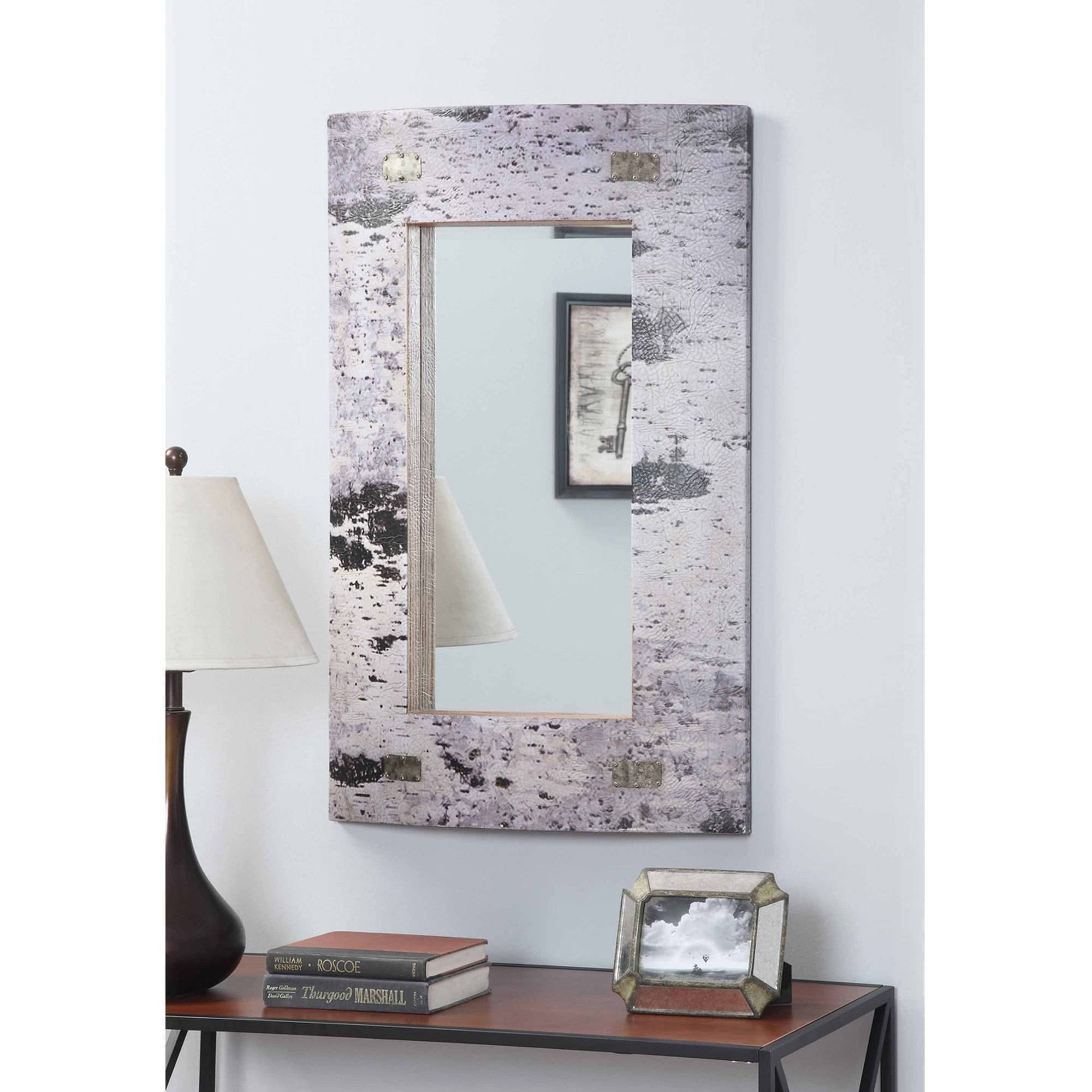 Convenience Concepts Rio Birch Print Mirror