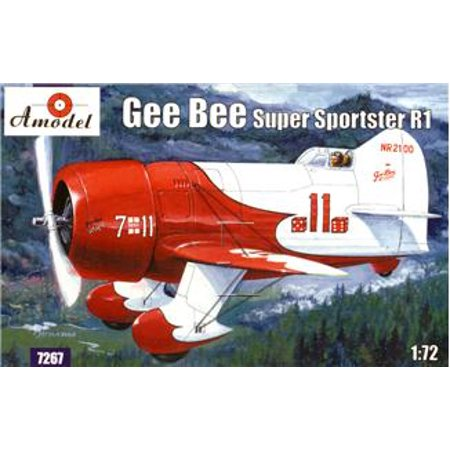 1/72 Gee Bee Super Sportster R1 Aircraft