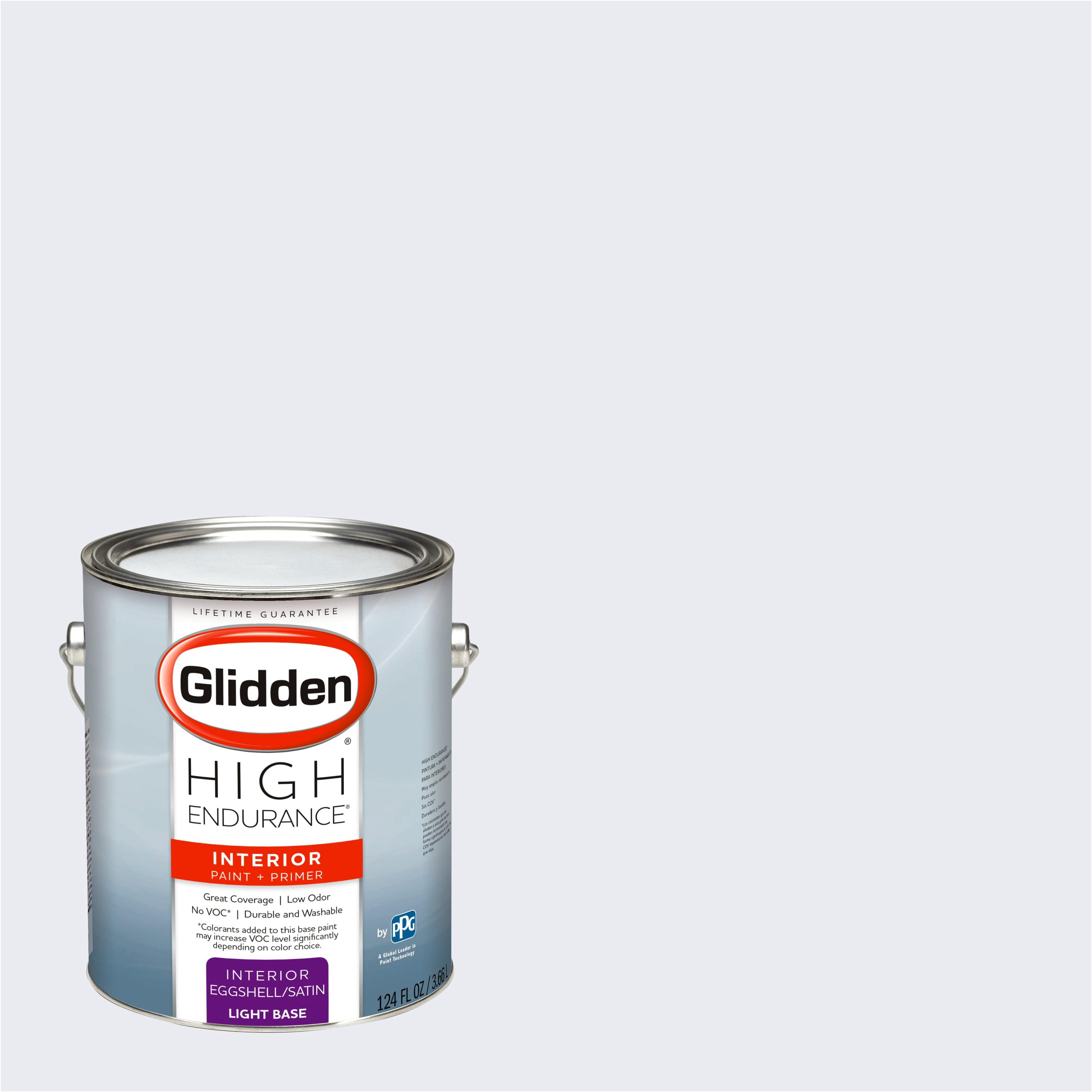 Glidden High Endurance Interior Paint And Primer Dove White 10bb 83 020