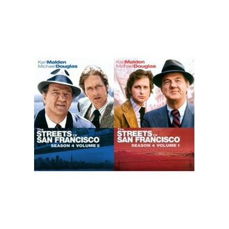 STREETS OF SAN FRANCISCO-SEASON 4 V01 & 2 2PK (DVD/6 DISCS) (DVD)