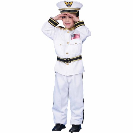 Navy Admiral Child Halloween Costume (Admiral Nelson Halloween Costume)