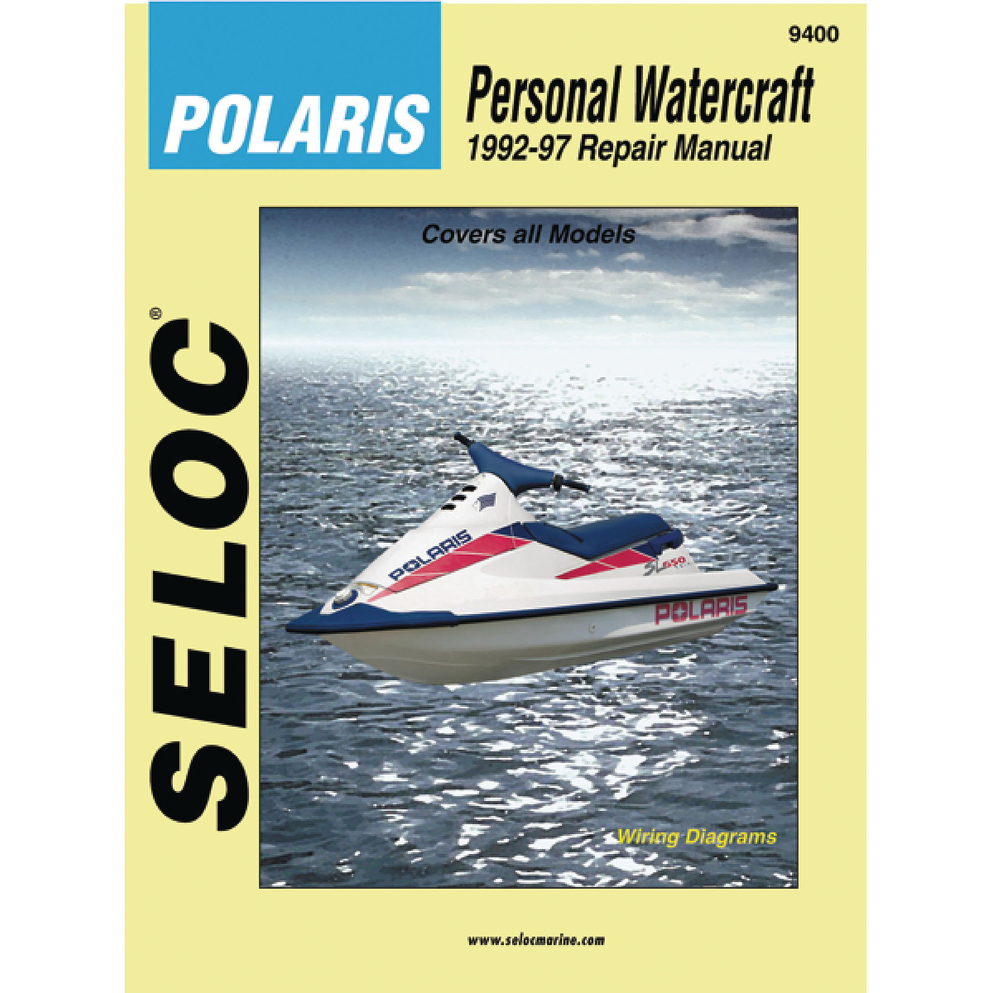 Seloc Marine Manual for Polaris Personal Watercraft 1992-97 - Walmart.com