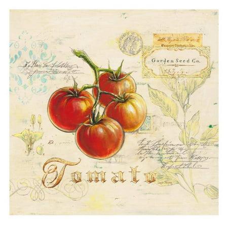 Tuscany Tomato (Tuscan Tomato Print Wall Art By Angela Staehling )