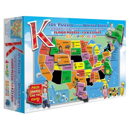 Image of A Broader View's Kids Puzzle of the USA (55-piece)
