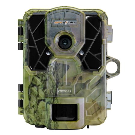 Special Offer Spypoint 12MP Invisible Flash LED Game Camera With Viewing Screen Camo, FORCE-12 Before Special Offer Ends